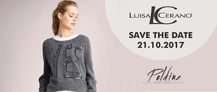 Luisa Cerano in Erding save the date