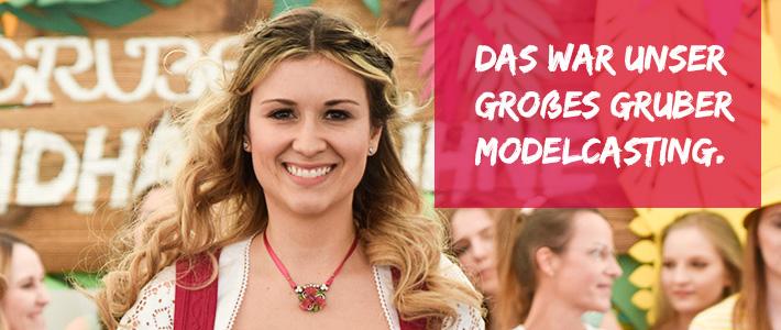 Das Gruber Model Casting am 7. April auf dem Lenz in Dorfen