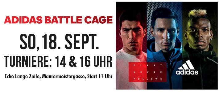 adidas Battle Cage am Sonntag wurde gekämpft