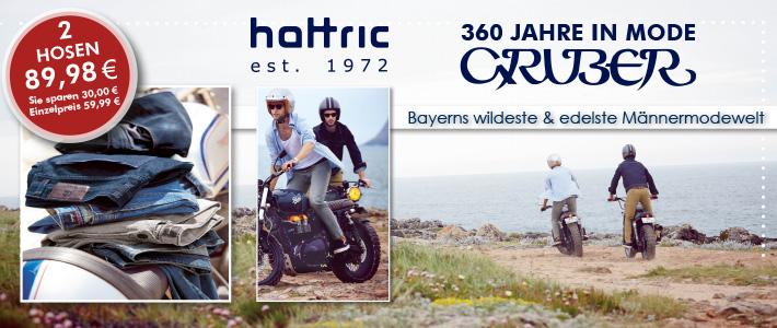 zwei Hosen für nur 89,98 EUR der Frühlingshit von hattric
