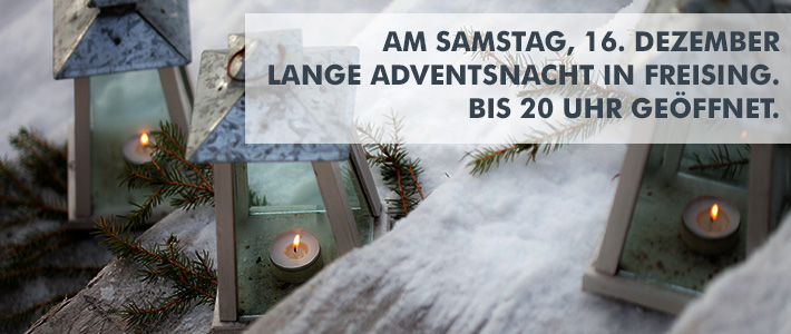 Lange Adventsnacht am 16.12. in Freising