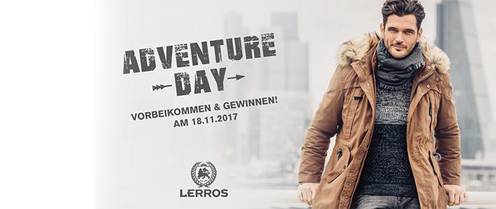 LERROS Adventure Day: Jochen-Schweizer-Gewinnspiel!