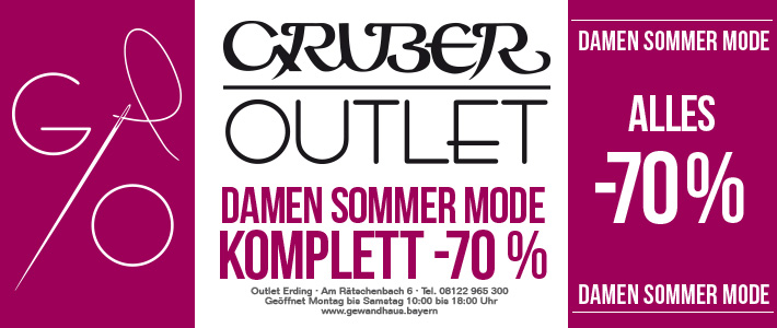 OUTLET Erding Damen Sommermode -70%