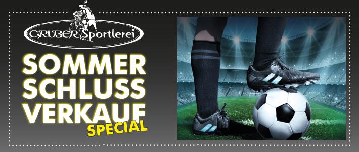 Sommerschlussverkauf Spezial Fußballschuhe
