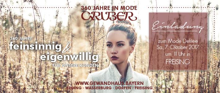 Modedefilees in Freising & Dorfen