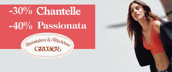bis zu -40% auf Chantelle & Passionata ab 21. November