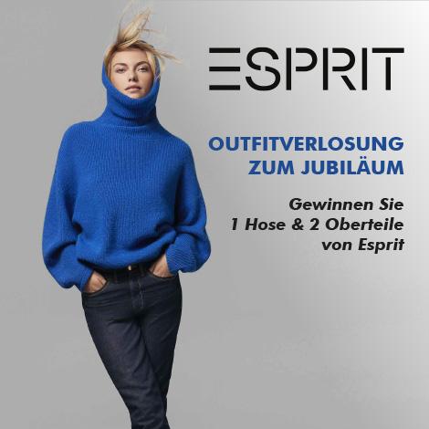 Esprit Outfitverlosung zum 40. Jubiläum in Dorfen