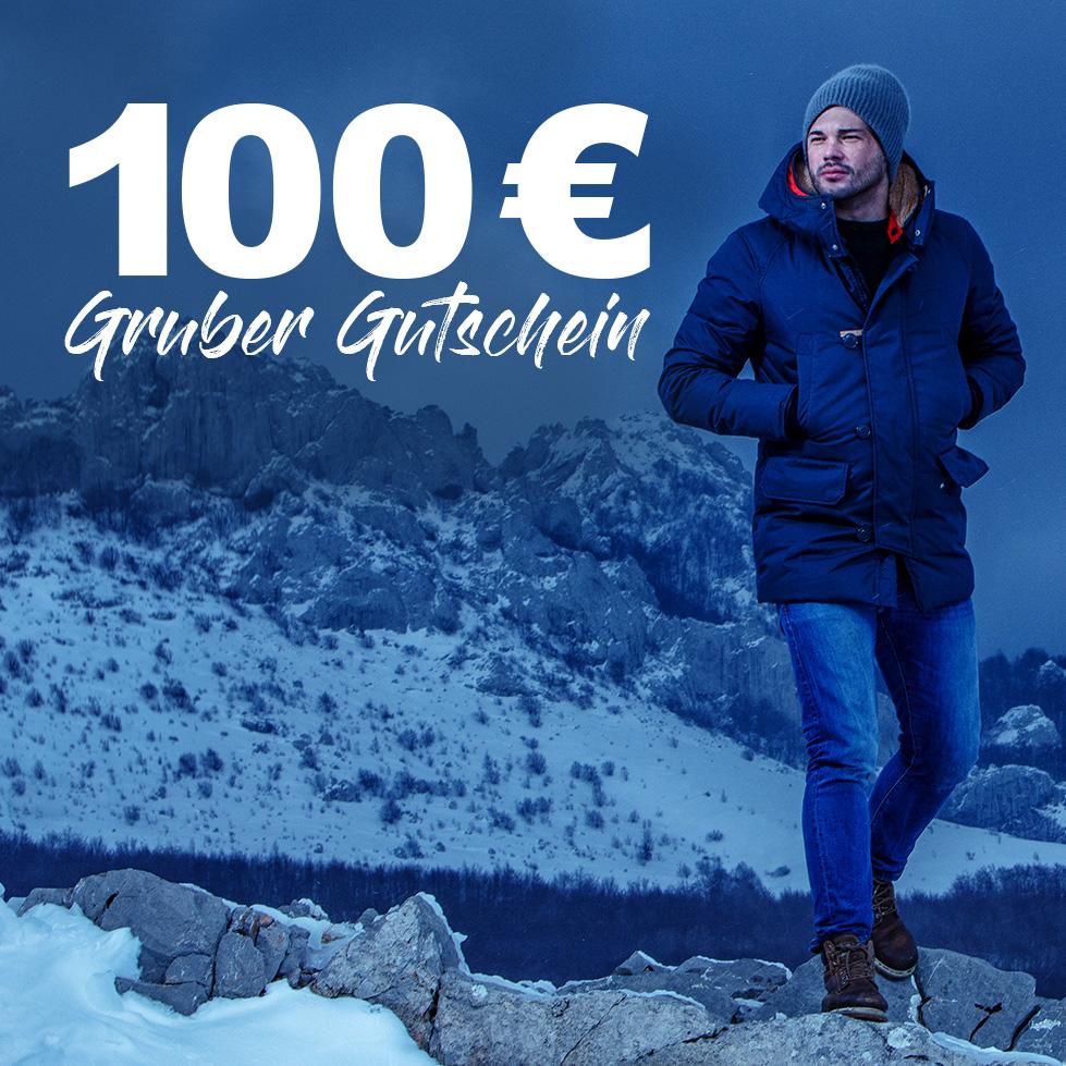 100€ Gruber-Gutschein beim Kauf einer Holubar oder Canada Goose Jacke