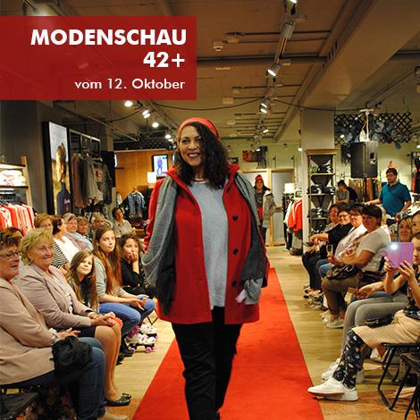 Impressionen vom 12. Oktober Modenschau 42+ in Erding