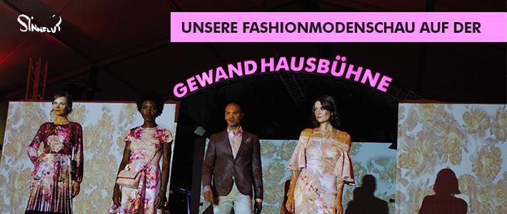 Impression unserer Fashionmodenschau Am 27. Juli auf der Sinnflut in Erding