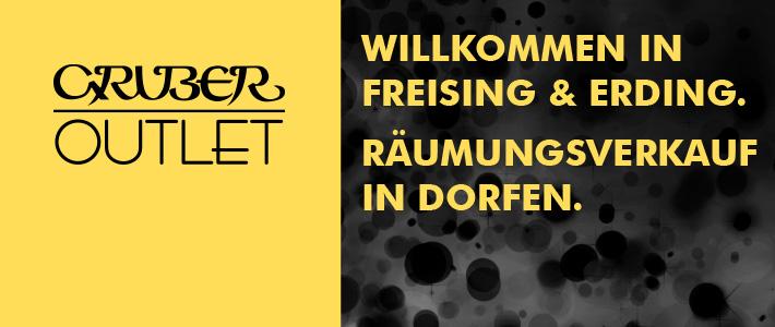 Gruber Outlet Freising, Erding & Dorfen