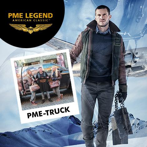 Der legendäre PME-Legend-Truck in Erding