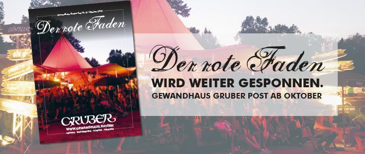 Der rote Faden Gewandhaus Gruber Post Nr. 8