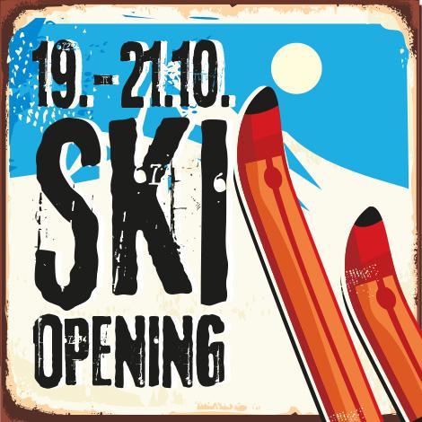 Großes Skiopening vom 19.-21. Oktober in der Sportlerei in Erding