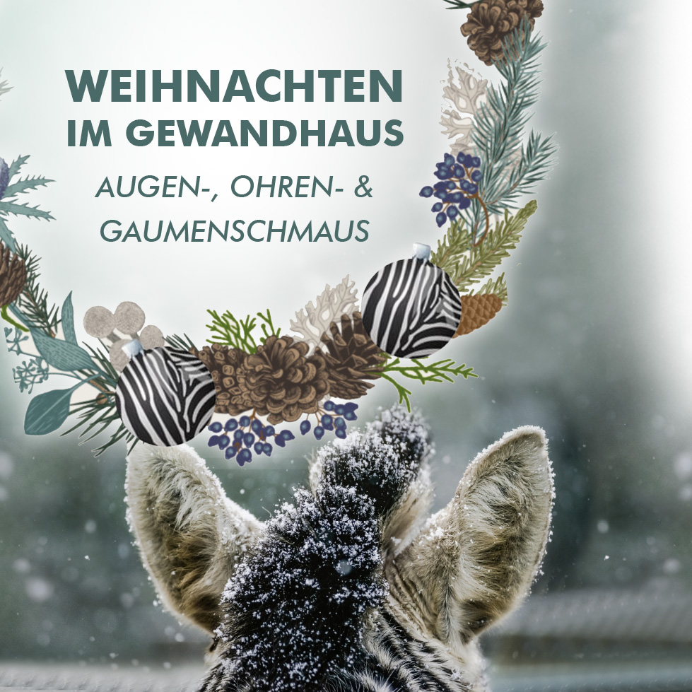 Weihnachten im Gewandhaus Augen-, Ohren- und Gaumenschmaus