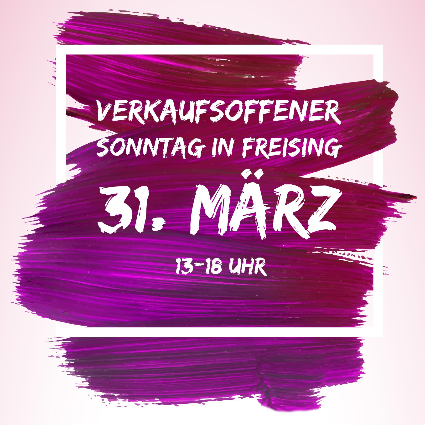 Verkaufsoffener Sonntag am 31. März in Wasserburg