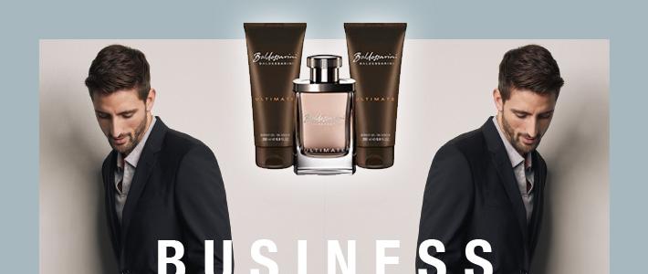 Baldessarini Business schenkt Ihnen ein Parfum-Set!
