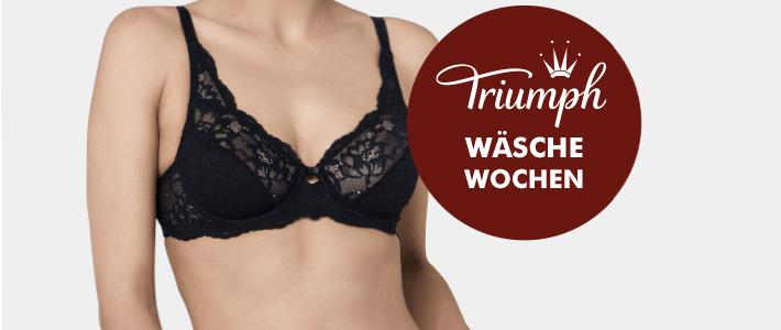 Triumph Wäschewochen in der Büstenhalterei