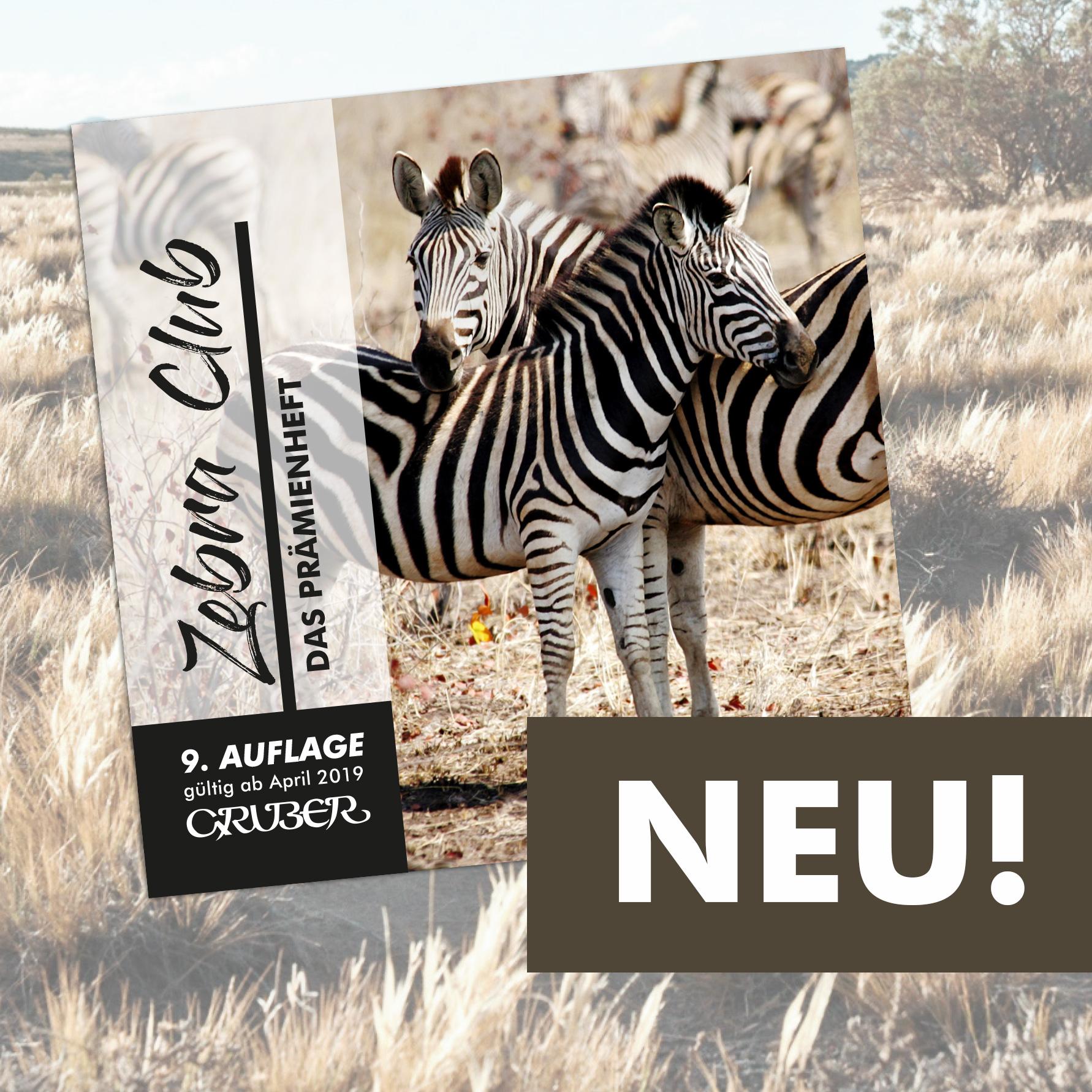 Neues Zebraheft Jetzt tolle Prämien sichern!