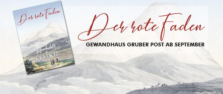 Der rote Faden Unsere Gewandhaus Gruber Post Nr. 9