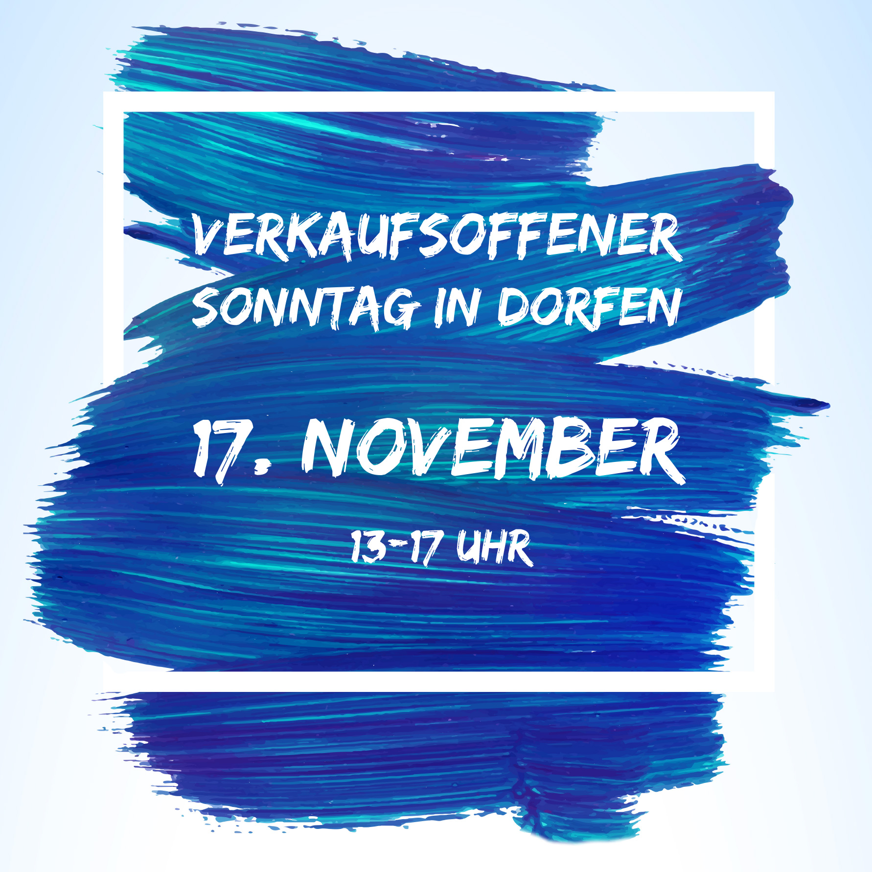 Verkaufsoffener Sonntag am 17. November in Dorfen