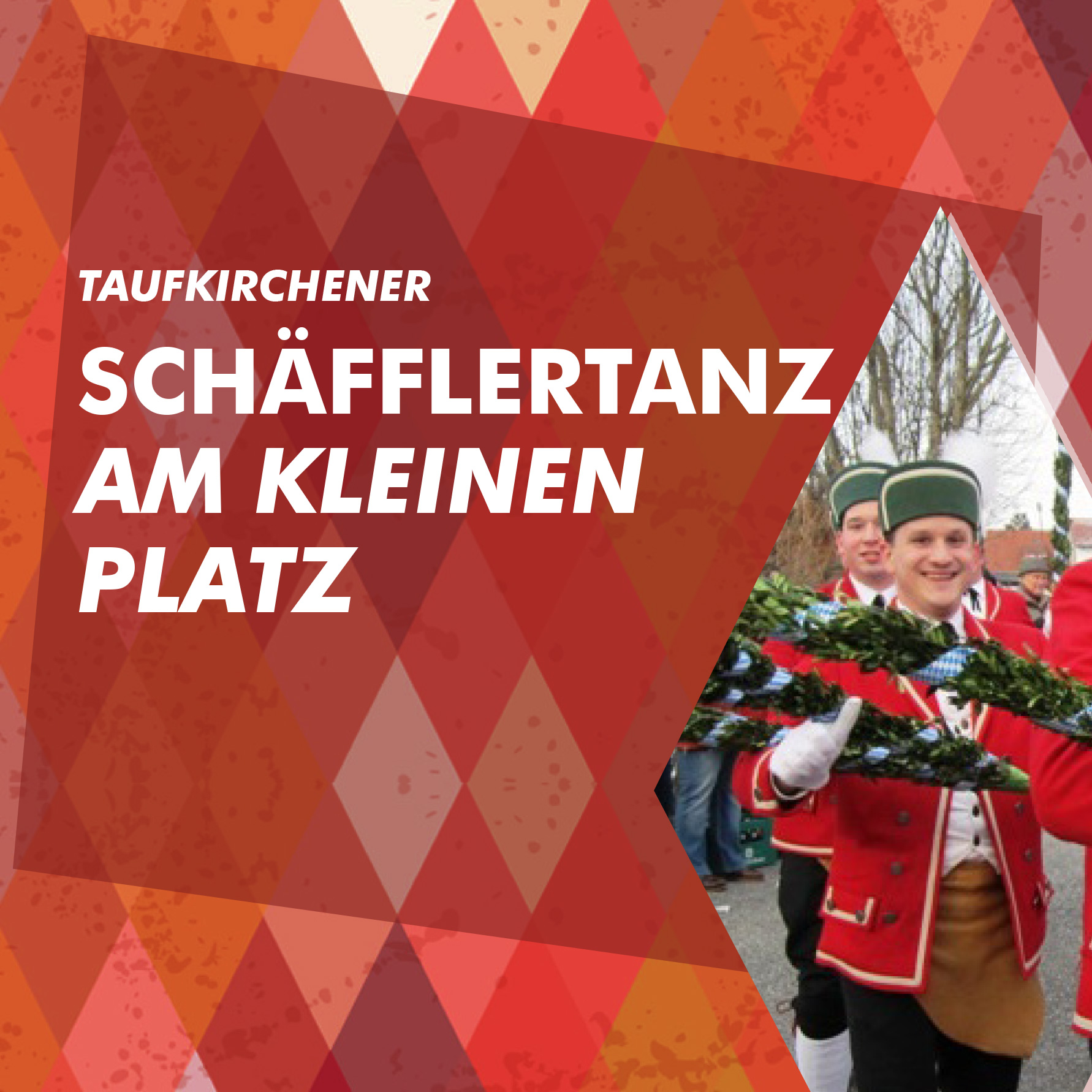 Taufkirchener Schäfflertanz in Erding