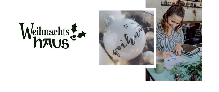 Live-Handlettering mit der Hübnerin am 23.11. im Weihnachtshaus