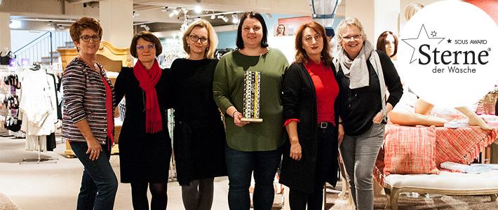 Sterne der Wäsche Sous Award für eines der besten Wäschehäuser in Deutschland