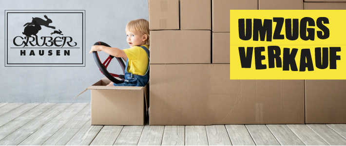Umzugsverkauf bis 17. Oktober Unsere Kinderabteilung in Erding zieht um