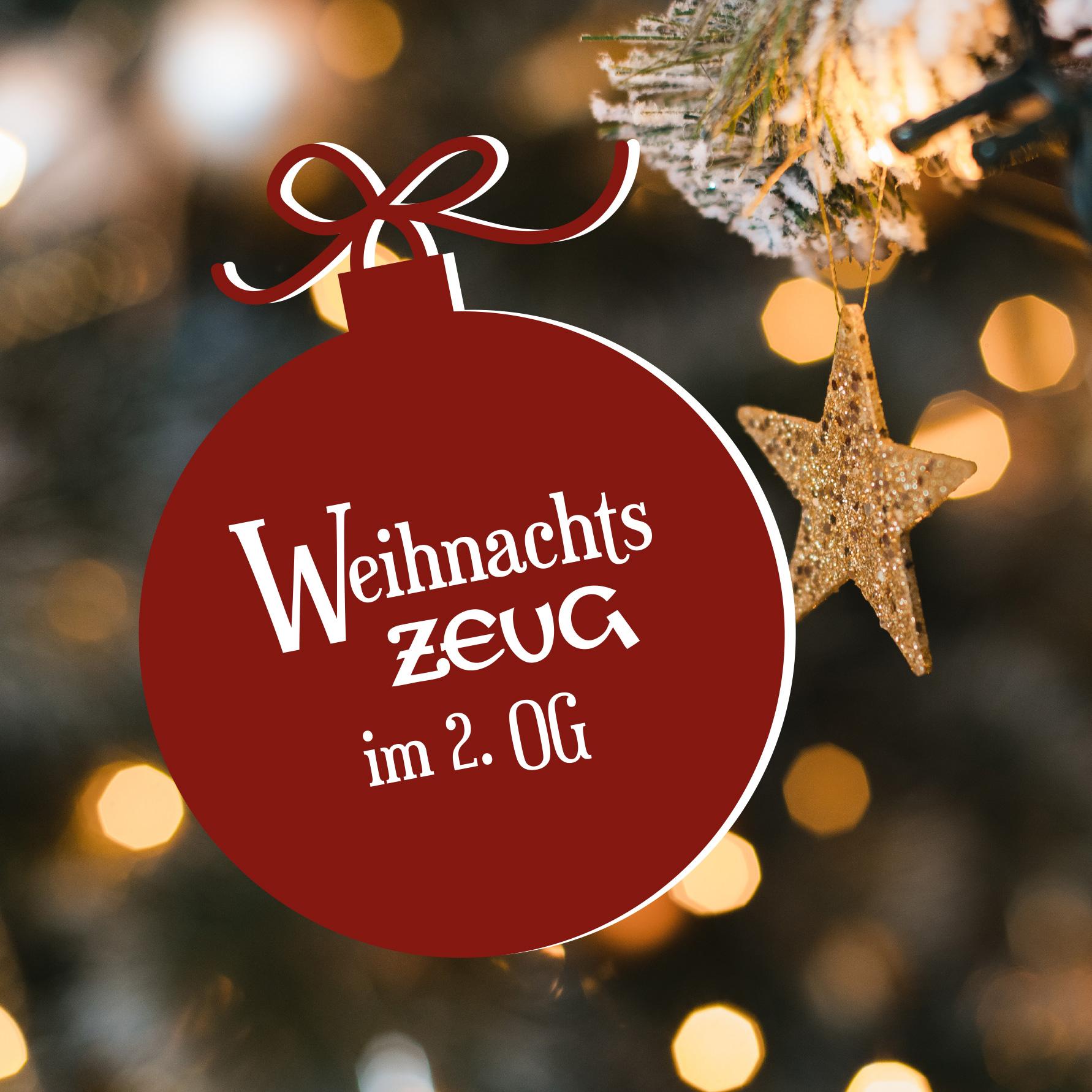 Weihnachtszeug & weihnachtlicher Verpackungsservice in Erding im 2. OG