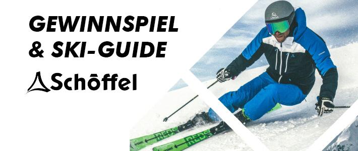 Wir schenken Dir einen exklusiven Ski-Guide Gewinne außerdem eine hochwertige Skijacke von Schöffel in Erding!